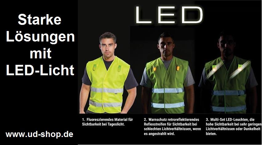 LED Warnschutzwesten